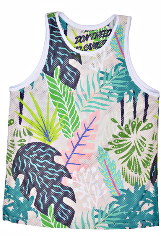 Don't Need No Samurai Mesh tank top Oh Jungle