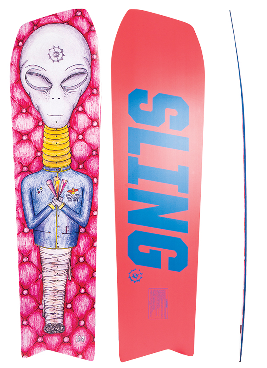 Slingshot Space Mob Wakeboard 2020